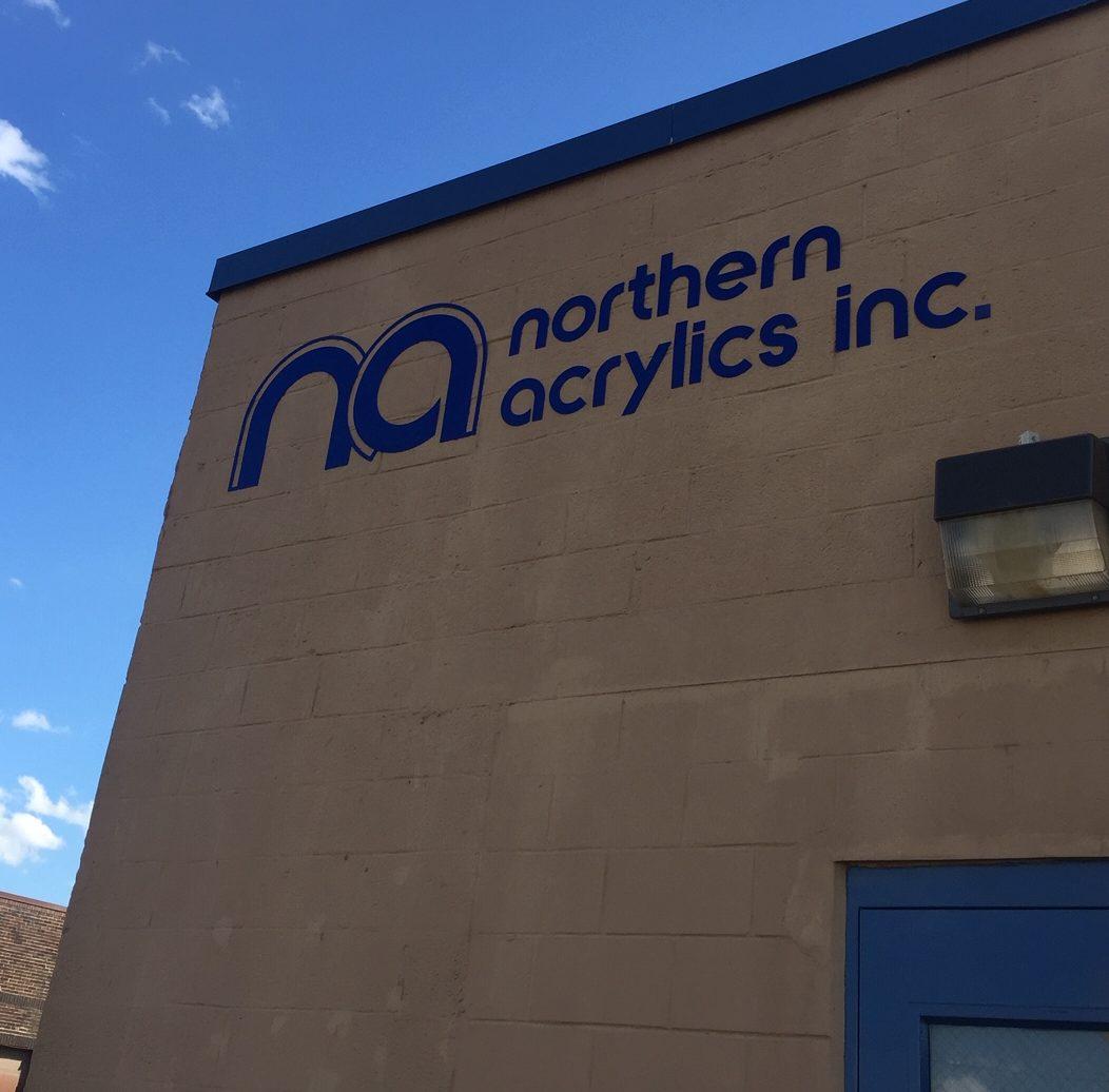 Northern Acrylics inc. building