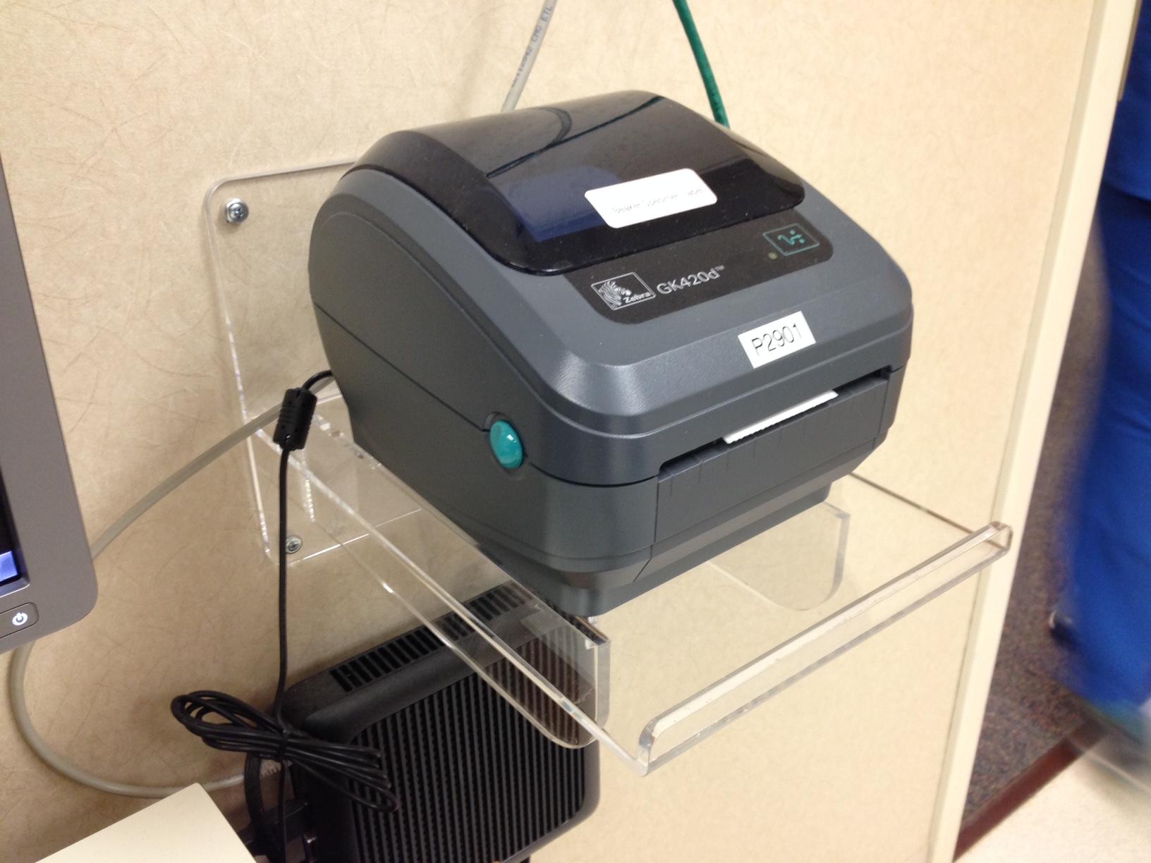 Printer Shelves